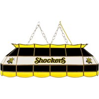 "NCAA Wichita State University 40"" Stained Glass Billiard Table Light Fixture"