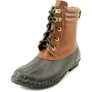 Womens LYNDSEY Rubber Round Toe Ankle Rainboots