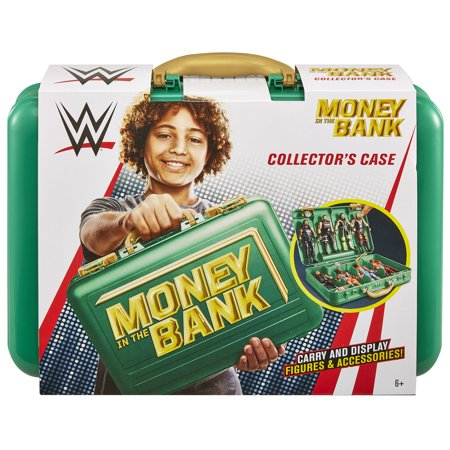 Green Money In the Bank - WWE Carrying Case (Wwe Money In The Bank Results 2013)