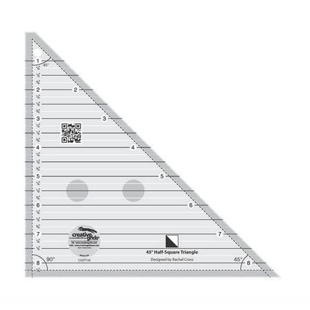 Creative Grids 45 Degree Half-Square Triangle (Triangle Grid)