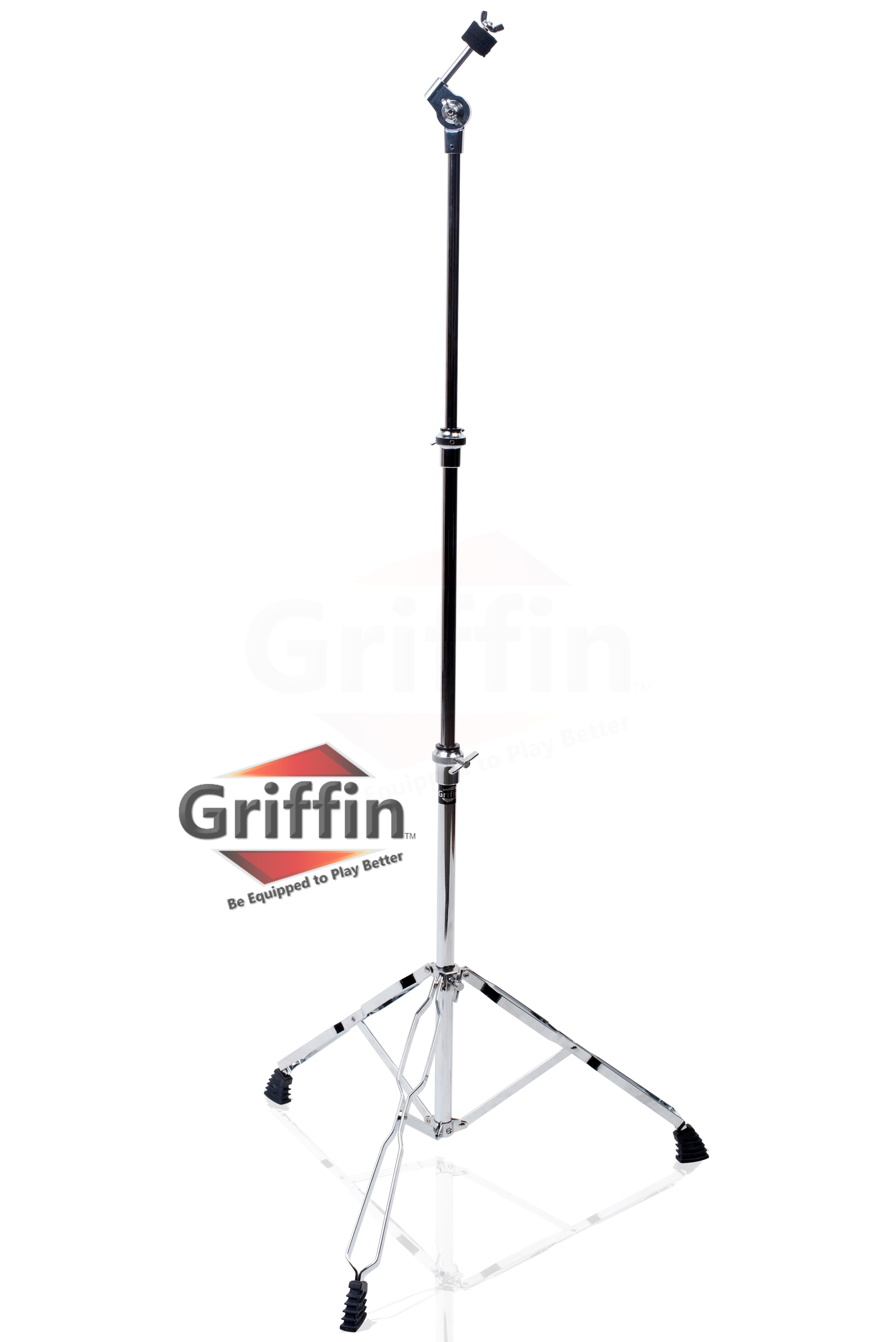 Straight Cymbal Stand by Griffin Deluxe Percussion Drum Hardware Set for Mounting... by Griffin