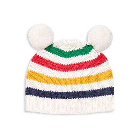 Kid's Striped Pom-Pom Beanie](Lord And Taylor Boys)