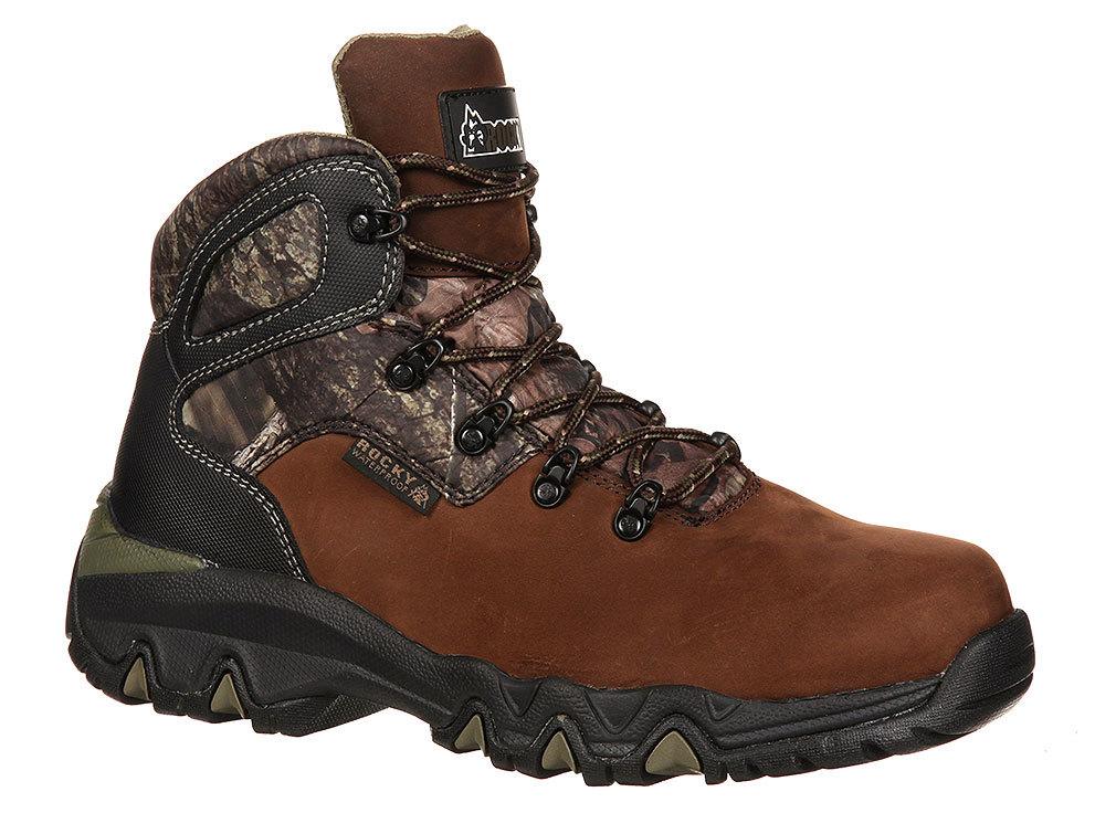 05051af40f7 Rocky - Rocky Men's Bigfoot Waterproof Brown Hiking Boot 12 XW ...