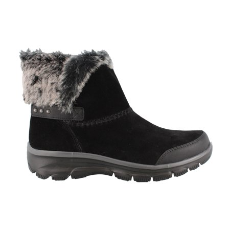 Women's Skechers, Relaxed Fit Easy Going Quantum Ankle Boots - Go Go Boots Black