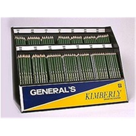General Pencil 525-3H Kimberly Drawing Pencils 1 Dozen, 3H