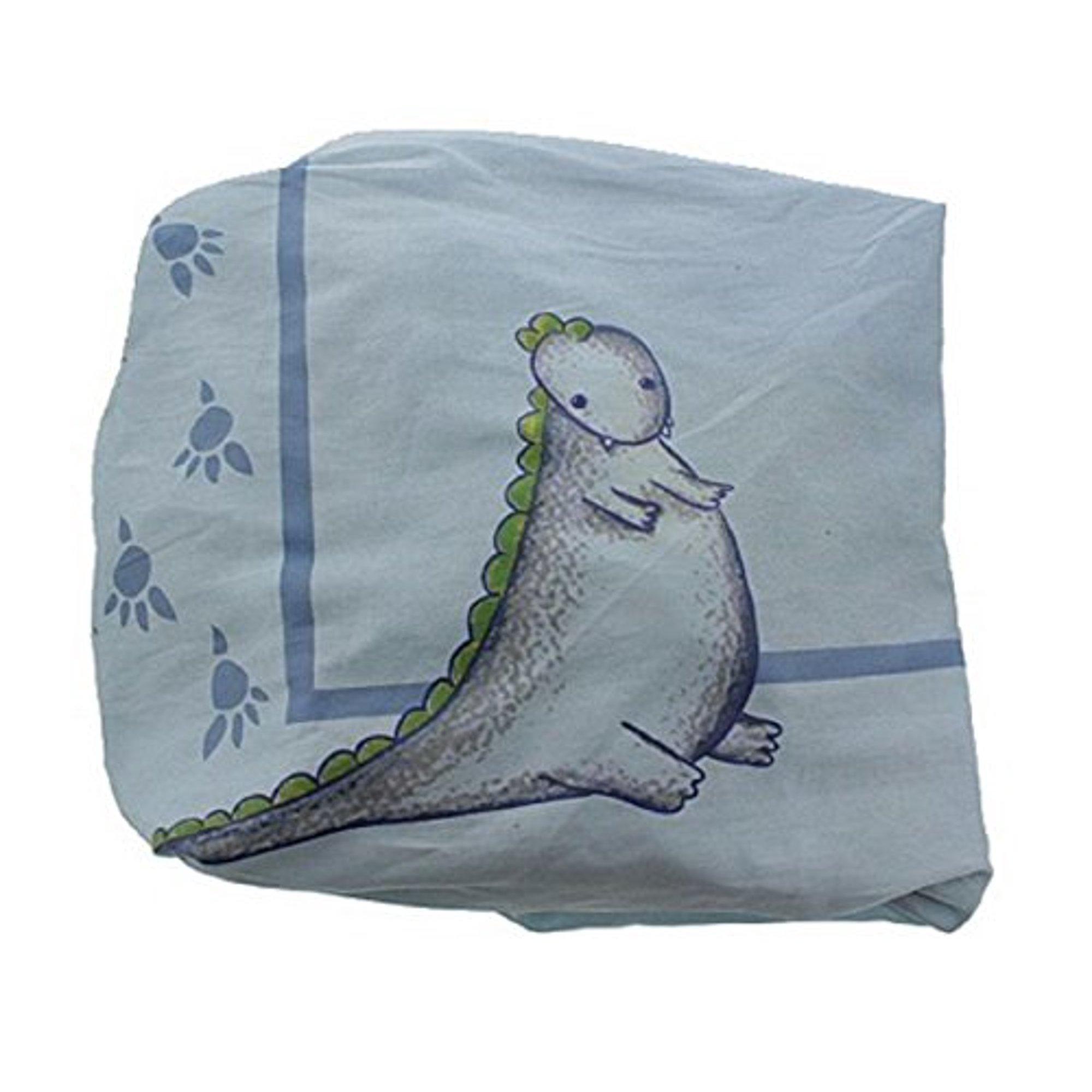 Babies R Us Truly Scrumptious By Heidi Klum Dinosaur Tracks Fitted Crib Sheet Blue Walmart Canada