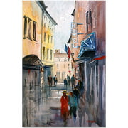 "Trademark Art ""Italian Impressions III"" Canvas Art by Ryan Radke"