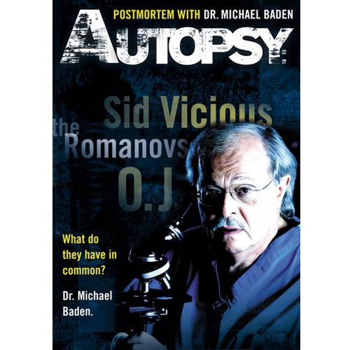Autopsy: Postmortem With Dr. Michael Baden DVD Movie 2008