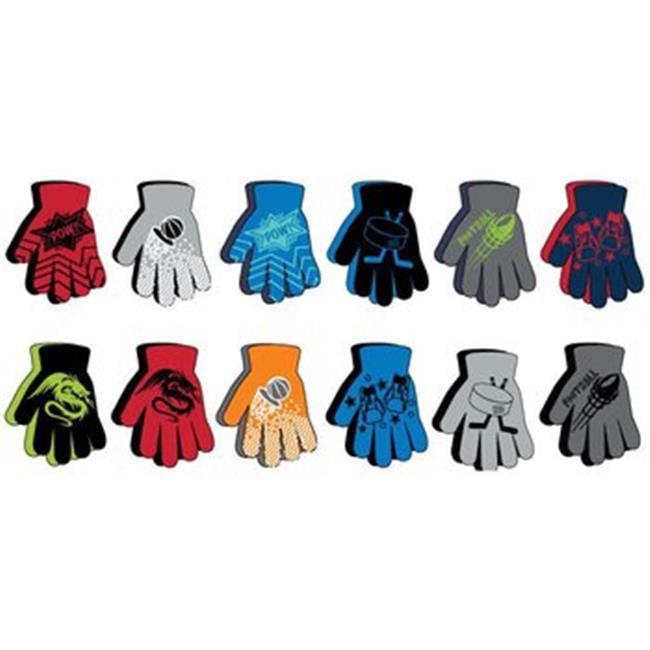 DDI 2280309 Boys Non-Skid Gloves 2-Pack, Case of 120