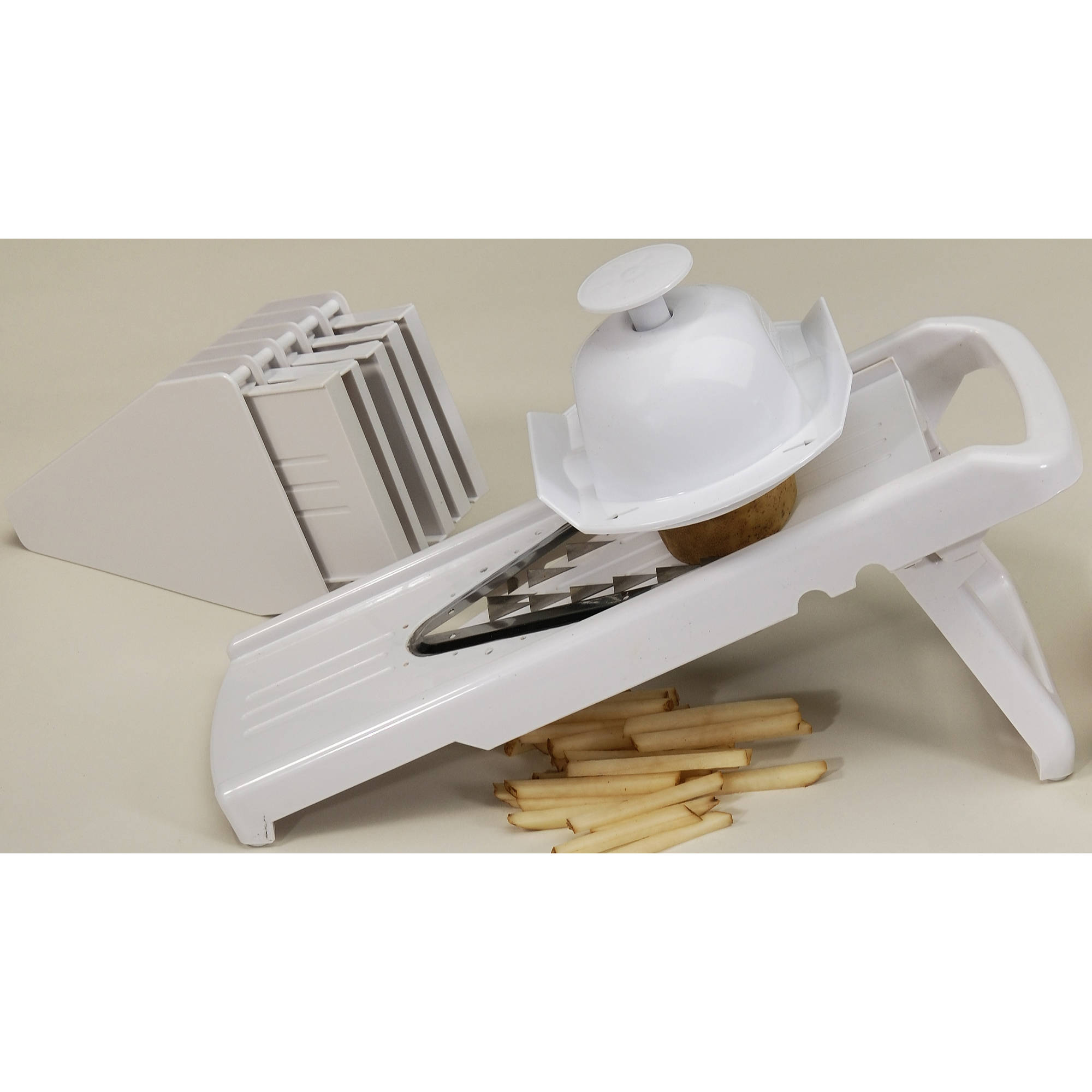 COOK PRO 9-Piece Mandolin Slicer with V-Shaped Blade by Cook Pro