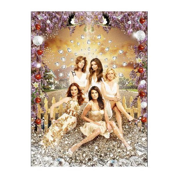 Desperate Housewives 11inx17in Mini Poster In Mail Storage Gift Tube 11x17 Poster Walmart Com Walmart Com