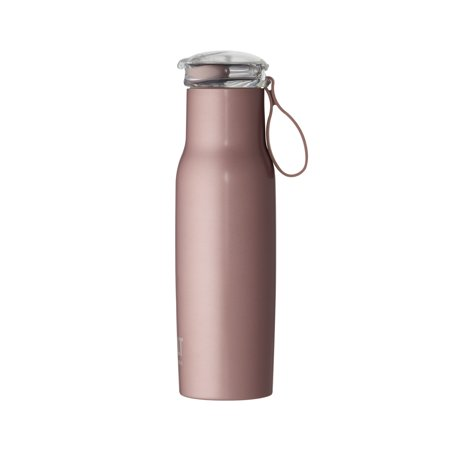 Built NY 18 oz Rose Gold Stainless Steel Bottle with Flip Top Lid