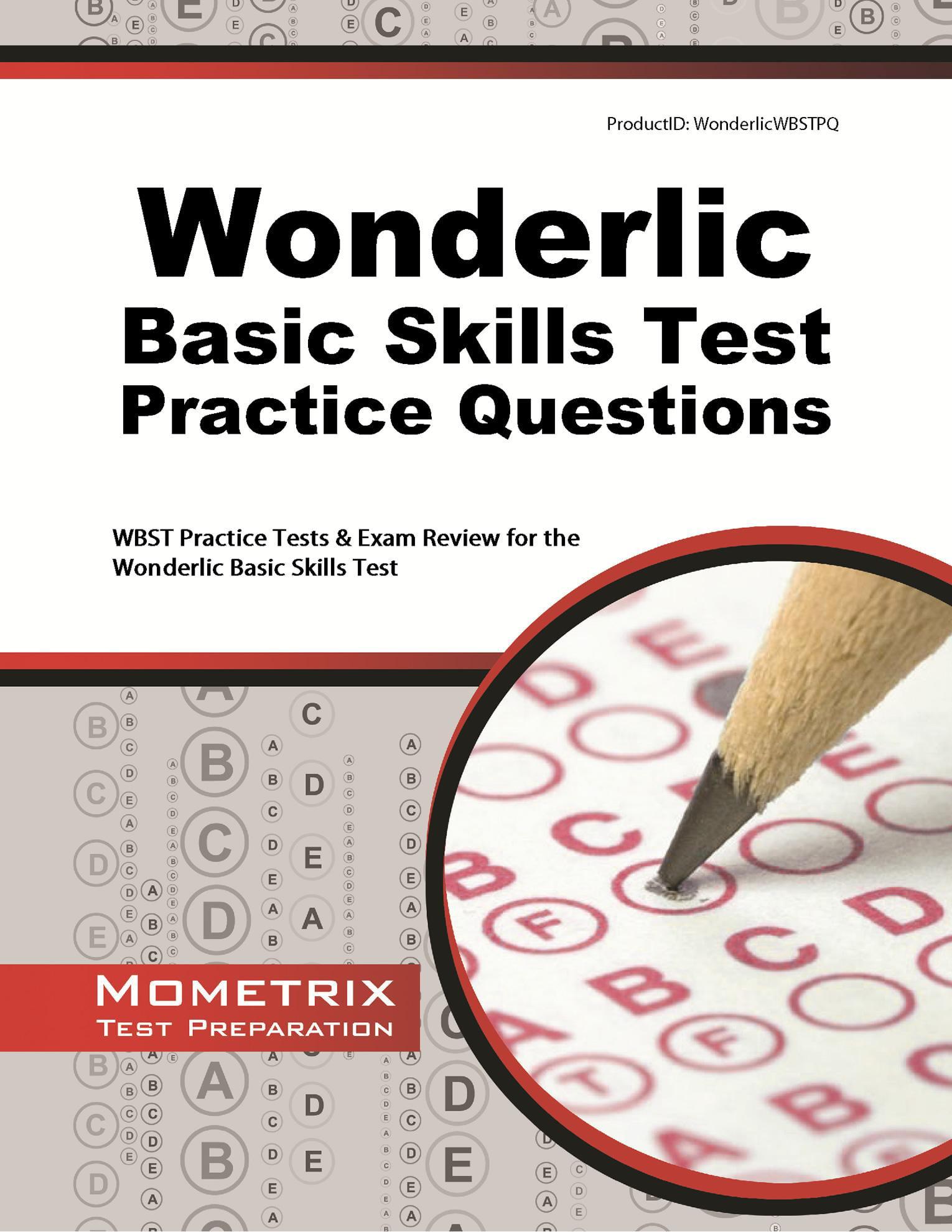 Wonderlic Basic Skills Test Practice Questions - Walmart.com