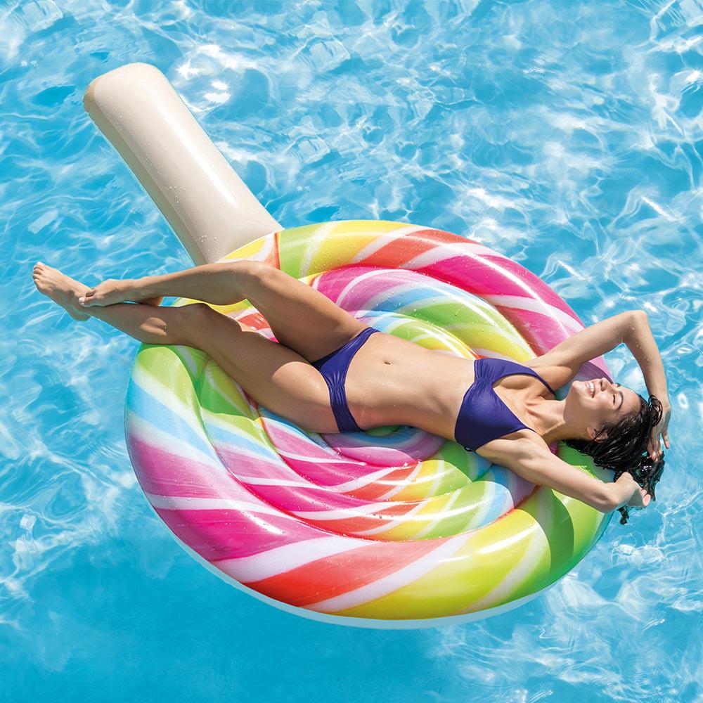 "Intex Inflatable Lollipop Pool Float, 82"" x 53"" by Intex"