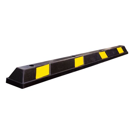 RK-BP72 Heavy Duty Rubber Parking Curb, Parking Block, 72 -