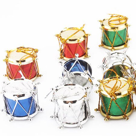 VENSE Christmas Decoration Christmas Tree Ornament Snare Drum Tree Hanging Ornaments - image 4 of 6