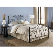 Deland Queen Bed, Brown Sparkle