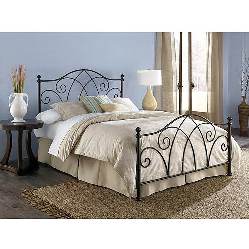 Deland Queen Bed, Brown Sparkle