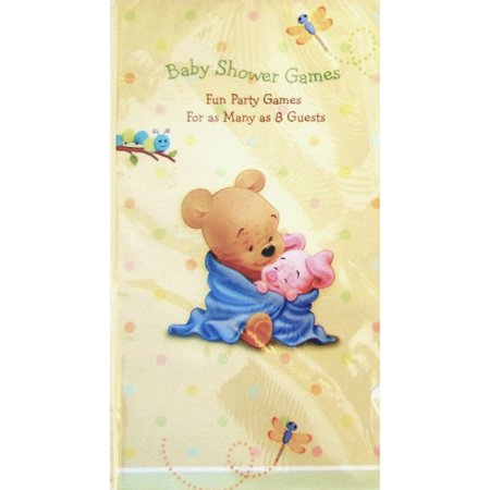 Winnie the Pooh 'Baby Days' Baby Shower Game Book (1ct)](Winnie The Pooh Baby Shower Decorations)