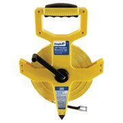 Empire Level Reel Tape Measures, 1/2 in x 200 ft, Yellow
