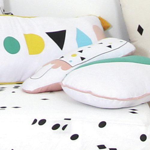 Trule Teen Shuler Cotton Throw Pillow