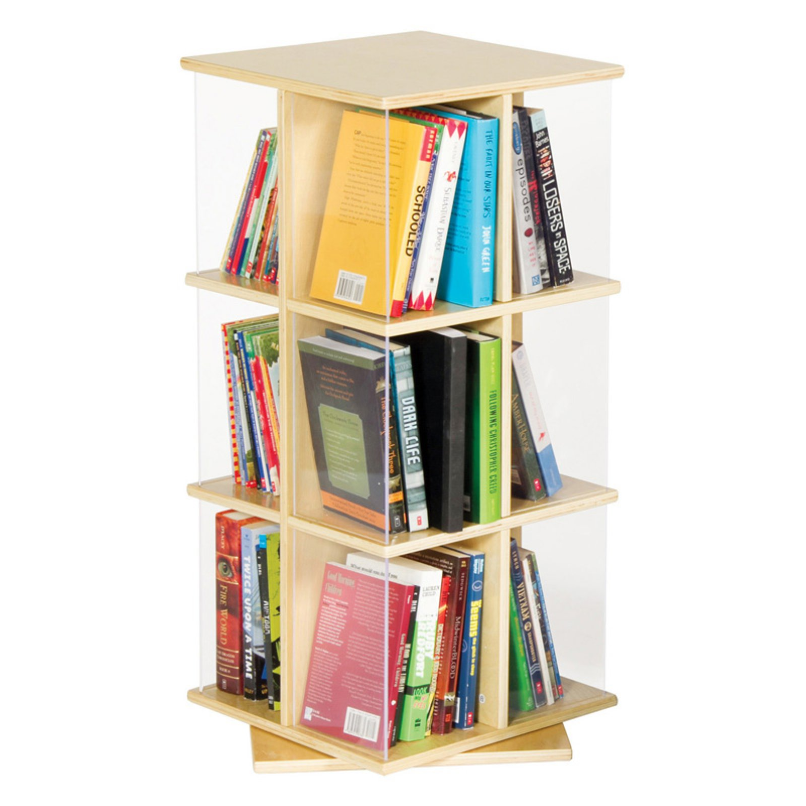 jointed bols mathy by from bookcases sculpturally joined furniture creative kids swivel bookcase concave adorable