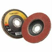 3M CUBITRON II 967A Flap Disc,T27,4-1/2in. x 7/8in.,60