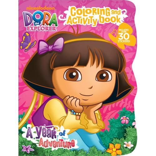 Bendon Publishing Intl Dora The Explorer Coloring and Activity Book by Bendon Publishing Intl