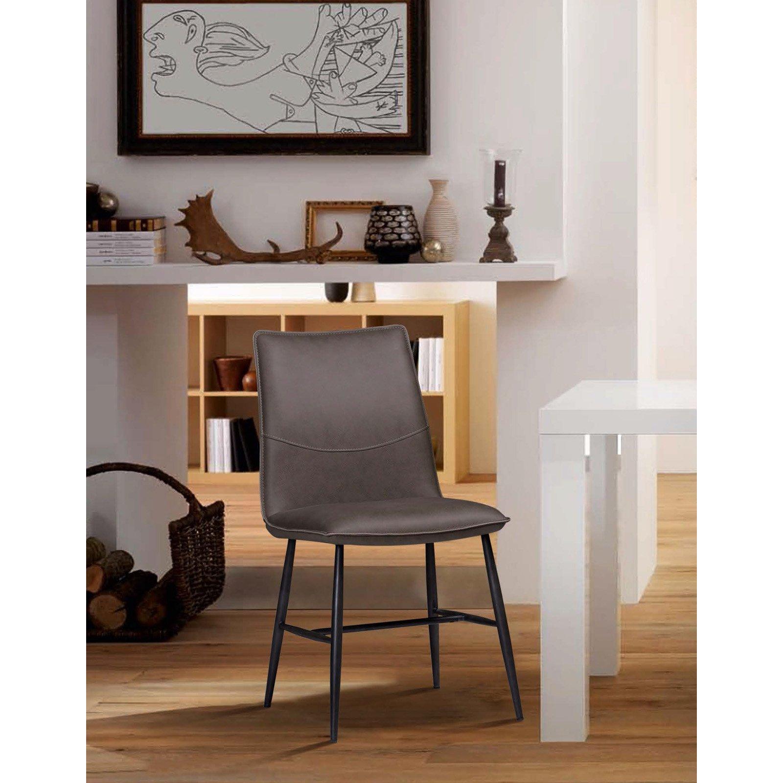 Modus Kara Scoop Modern Dining Chair Set of 2 by Modus Furniture International