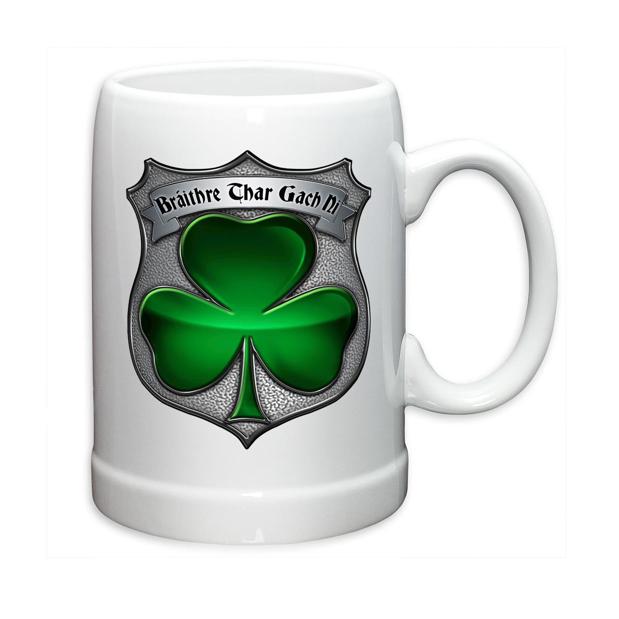 Erazor Bits Police Irish Brotherhood 20oz Stoneware Coffee, Beverage Mug