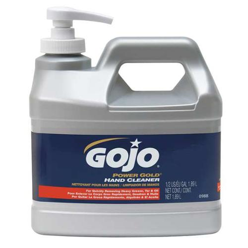 GOJO 0988-04 Hand Cleaner, Citrus, Green, Pump Bottle