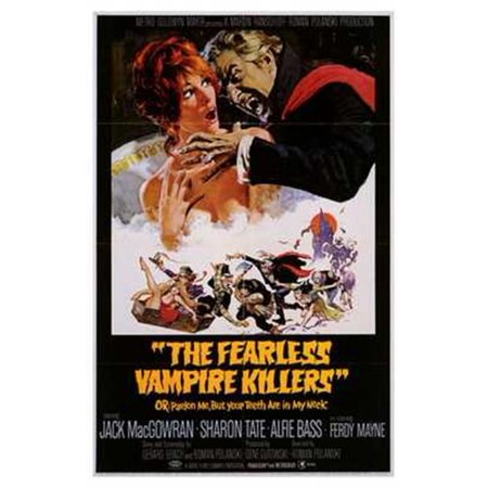 Fearless Vampire Killers Movie Poster  11 X 17