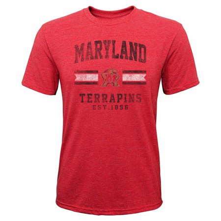Youth Player Stripe (Maryland Youth NCAA Triple Stripe Player Pride T-Shirt  -)