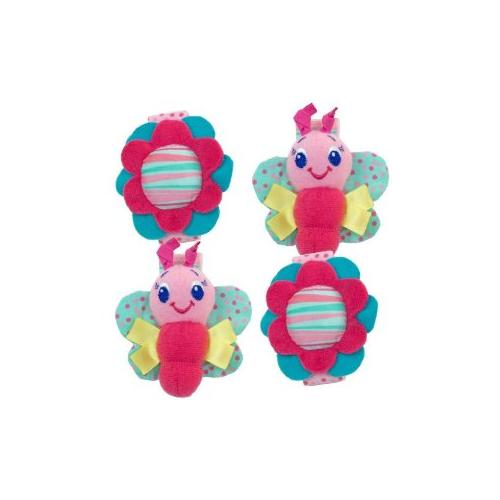Bright Starts Rattle Me Bracelets, Set of 2