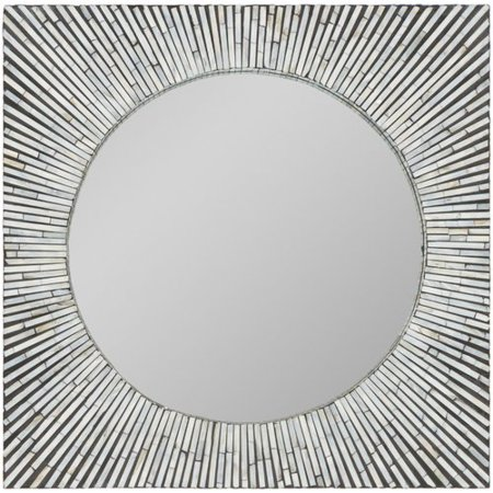 Willa Arlo Interiors Modern Square Accent Wall Mirror