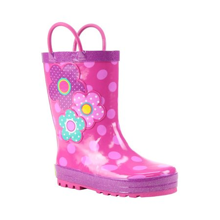 Floral Western Boots - Girls' Western Chief Flower Cutie Rain Boot