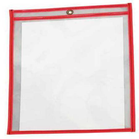 Shop Ticket Holder, Neon Red, PK15 Red Ticket Holder