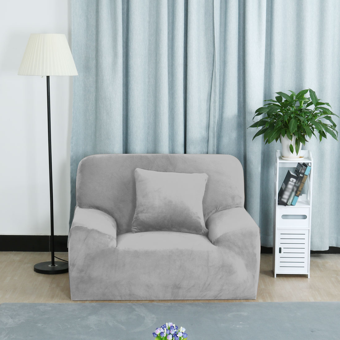 Stretch Sofa Slipcover Sofa Covers Chair Covers 1 Seater 35 55 Inch