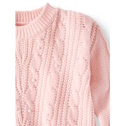 bd3a0b881 ONLINE - Pearl Cable Pullover Sweater (Little Girls   Big Girls ...