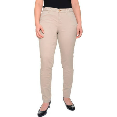 Faded Glory Women's Skinny Chino Pants (Express Womens Pants)