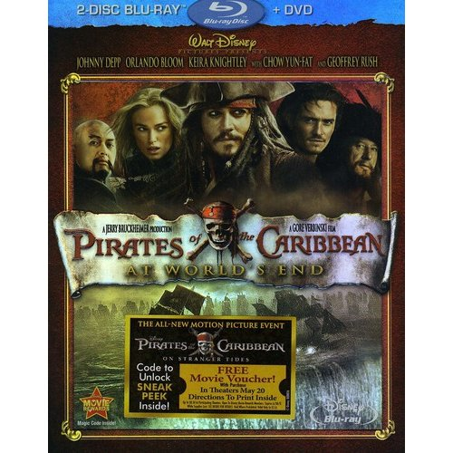 Pirates Of The Caribbean: At World's End (2-Disc Blu-ray + DVD) (Widescreen)