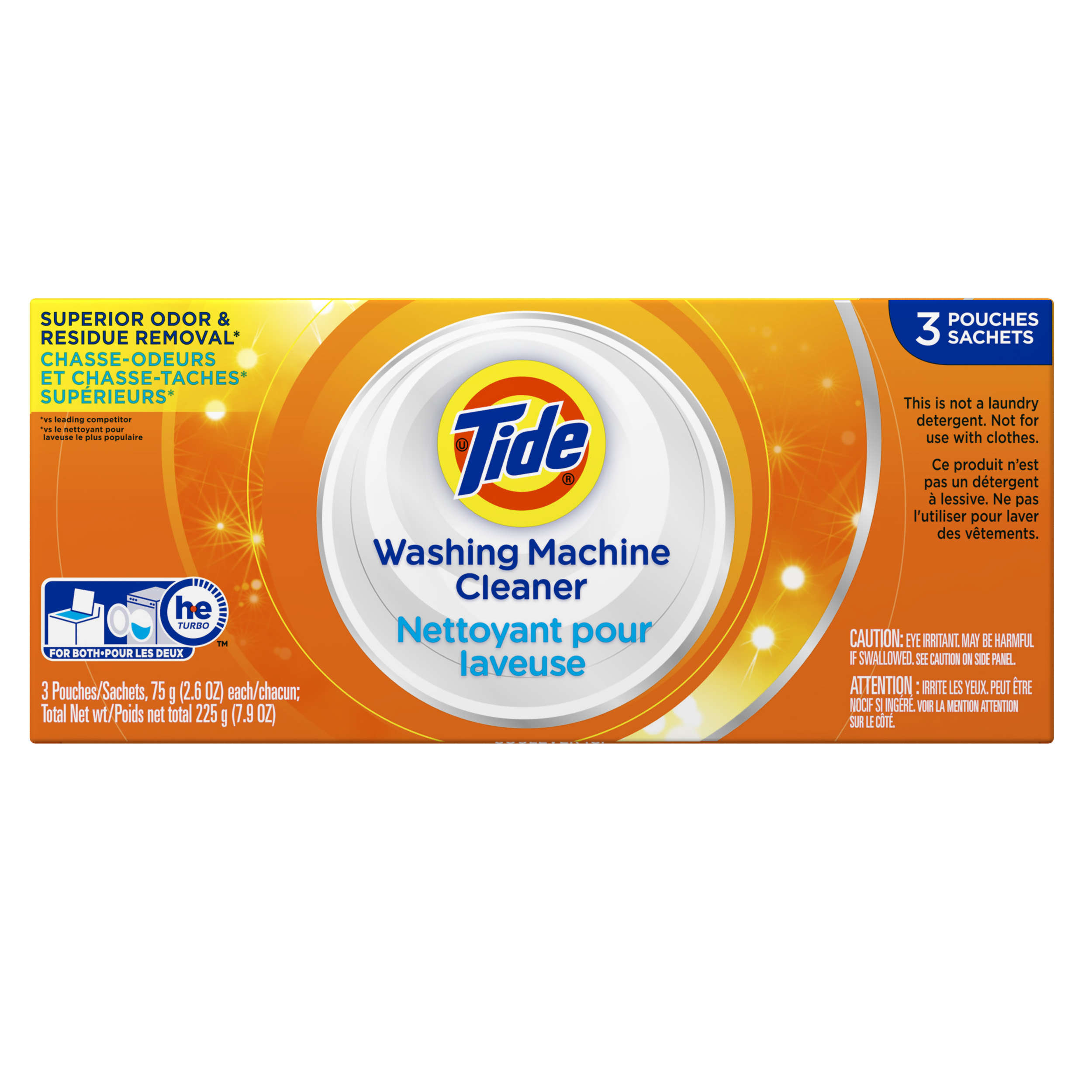 Tide Washing Machine Cleaner, 3 Count