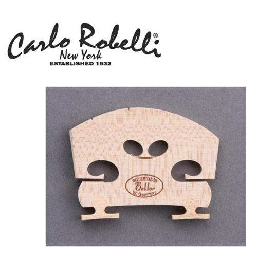 Carlo Robelli Adjustable Violin Bridge (4 4 Size, Fitted) by