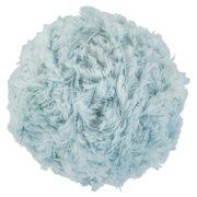 Red Heart Hygge Fur Yarn-Blue Mist