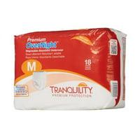 Tranquility Premium OverNight Disposable Absorbent Underwear, Medium 34 - 48 In, 36 Ct