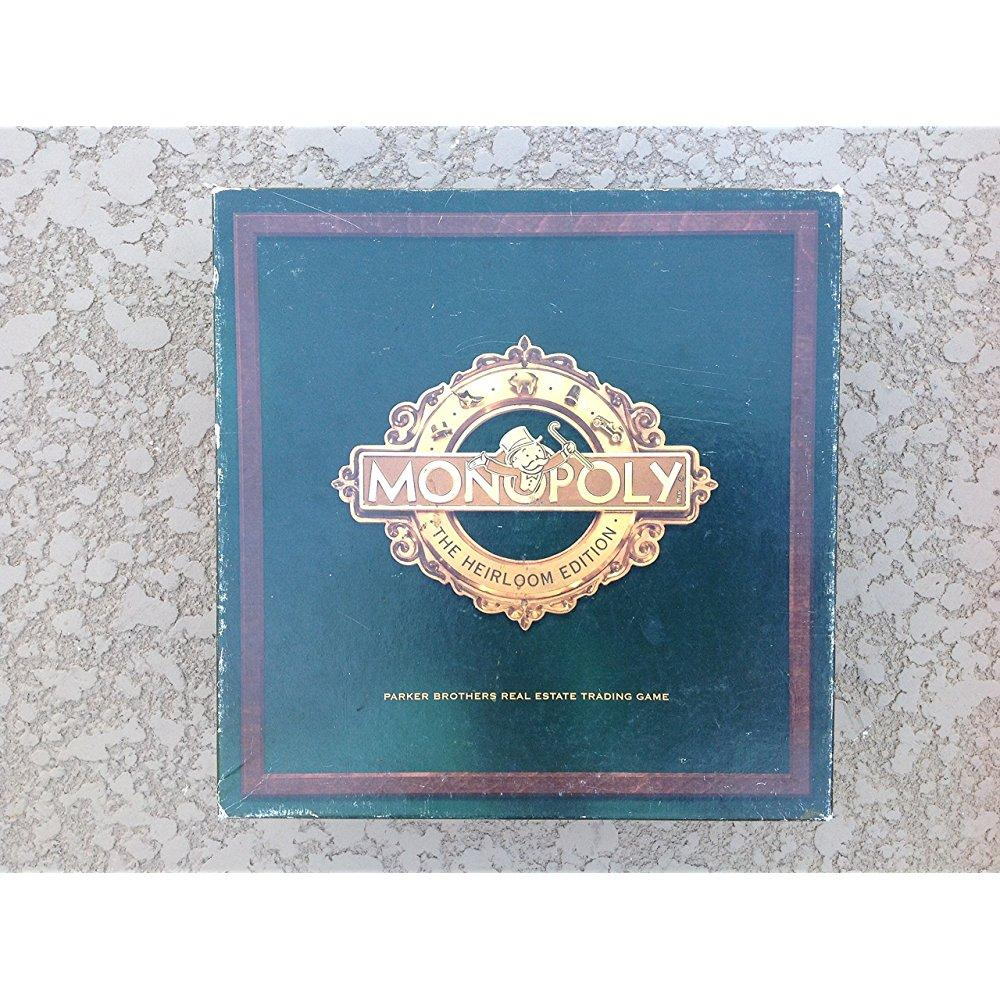 Monopoly The Heirloom Edition by Parker Brothers