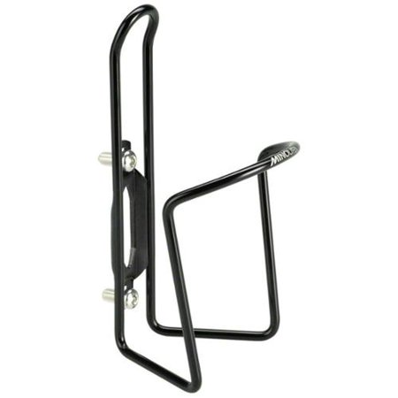 - Minoura DuraCage Water Bottle Cage: 4.5mm; Black with Alloy Bolts