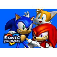 Sonic Heroes Sonic the Hedgehog Tails Knuckles Edible Cake Topper Image ABPID00054V2