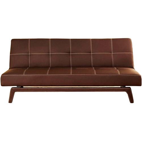 ameriwood industries delaney sleeper sofa in coffee