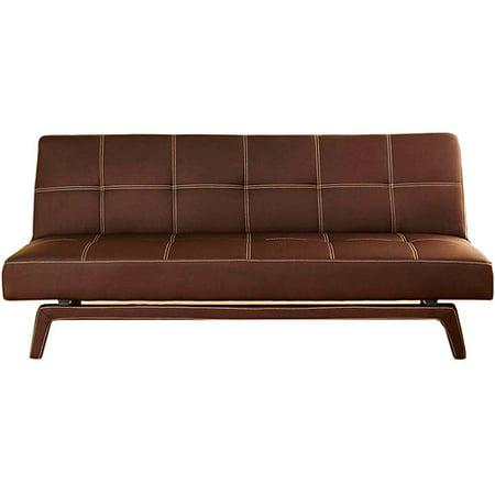 Sofas At Walmart Ameriwood Industries Delaney Sleeper Sofa In Coffee